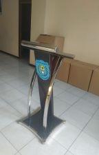 WA 0812-2643-2143 | Jual podium stainless steel by Furniturenusantara5