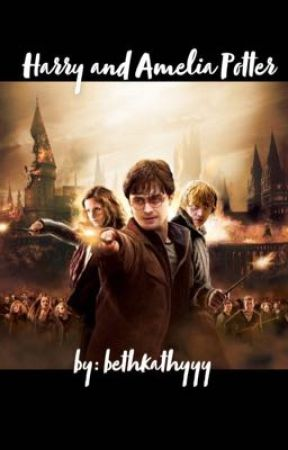 Harry and Amelia Potter by bethkathyyy