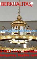 BERKUALITAS, Call 0856-4211-5547, Jual Replika Lampu Nabawi Banyumas by LampuNabawiMurah1989