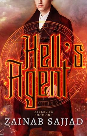 Hell's Agent ǀ #NaNoWriMo2019 by Ink_Smoke_ZS