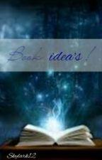 Book ideas! by skylark12