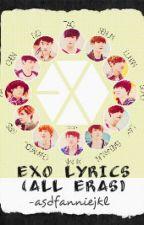 EXO Lyrics (All eras) by asdfanniejkl