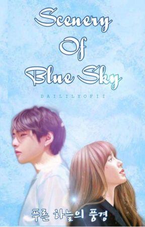 Scenery Of Blue Sky (푸른 하늘의 풍경) by daililyofii
