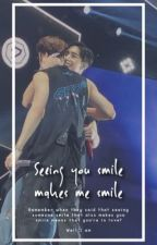 Seeing you smile makes me smile   | Markson | by YzaCruz12