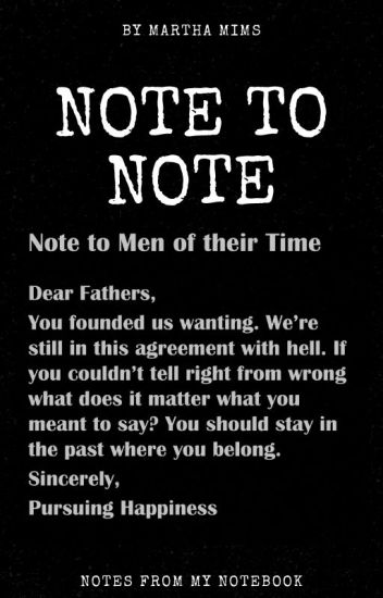 Note to Note