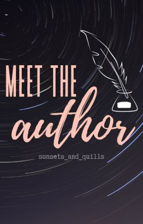 Meet The Author! by moviehead_always4