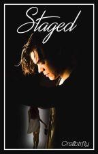 Staged // Harry Styles by crstlbtrfly