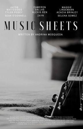 Music Sheets // 5SOS by OkayyyAndie