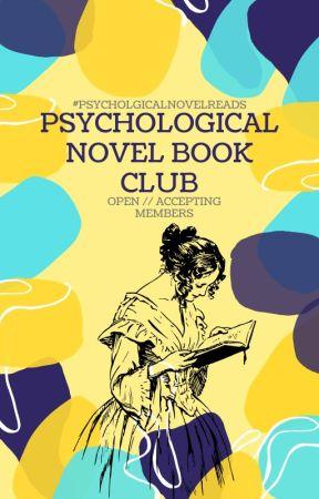 Psychological Novel Book Club by PsychologicalNovel