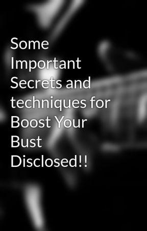Boost your bust secrets