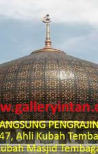 LANGSUNG PENGRAJIN, Call 0856-4211-5547, Ahli Kubah Tembaga Masjid Cilacap by replikalampunabawi