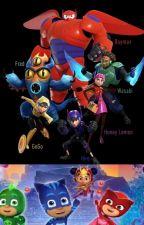 The PJ Masks Meet Big Hero 6 by shrekyardigans