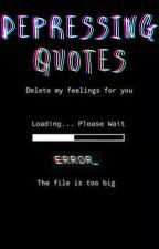 Depression quotes by Amazingbrooke06