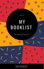 My Booklist 2019 by NotGunnaLie