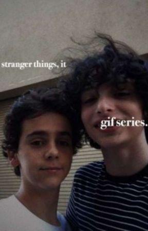 Stranger Things/It Gif Series (German Translation) by mangoesxcarrots