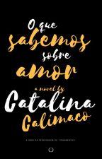 O que sabemos sobre amor by catalinacalimaco