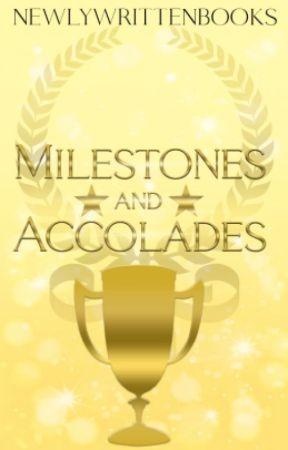 User Milestones by newlywrittenbooks