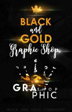 Black And Gold Graphic Shop by BGCommunity