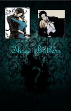 Three Butlers {Black Butler} by redkessy