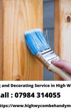 Get Dazzling Painting and Decorating Services in High Wycombe by peterhandyman
