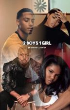 2 Boys and 1 Girl by NnateCarter