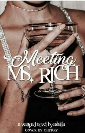 Meeting Ms Rich by floralmess-