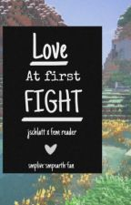 Love at First Fight - SMPlive - Jschlatt x reader by smplive-smpearth-fan