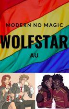Modern No-Magic Wolfstar AU by WalkingOutOfTime