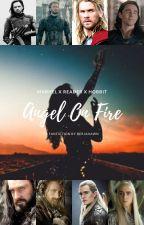 Angel On Fire by BerjhawnGideon