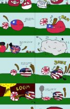WW2 explained in countryballs by The70sRock