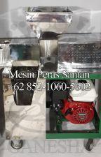 WA +62 852-1060-5602 Jual Mesin Peras Santan Di Bekasi by jualpemerassantan