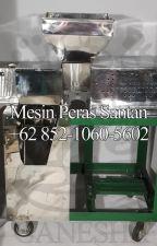 WA +62 852-1060-5602 Jual Mesin Peras Kelapa Mini Di Bekasi by jualpemerassantan