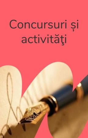 Concursuri și activități by PoetryRo
