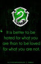 Slytherin Acrostic by DemigodTimeLordWitch
