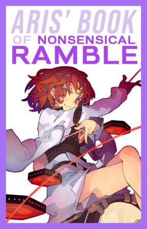 RAMBLES - NONSENSE BOOK by COCODAYO