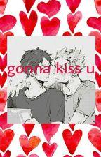 gonna kiss u [Haikyuu] [BokuAka] [BoyxBoy] by cool-jpg