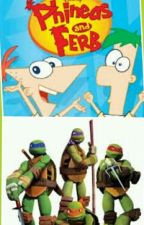 TMNT Meets Phineas And Ferb by Tori_Kagame