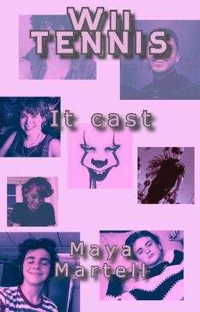 Wii TENNIS| It cast by MayaMartell