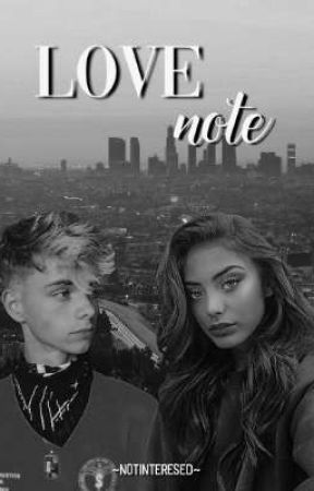 Love Note // Corbyn Besson ff. by notinteresed