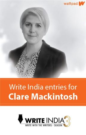 Write India entries for Clare Mackintosh by WriteIndia