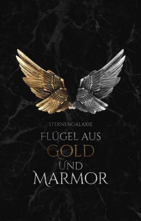 Flügel aus Gold und Marmor by sternengalaxie