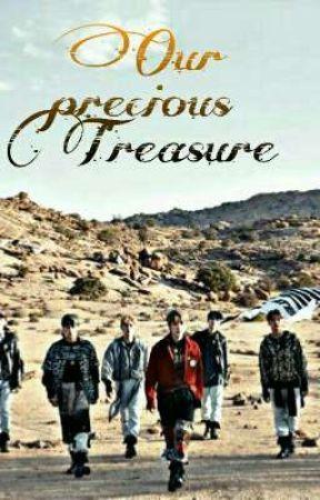 Our precious treasure  (Ateez x reader) by Bluenight456