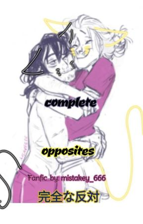 Complete opposites [ Hizashi Yamada x reader x Shouta Aizawa] by another___one___666