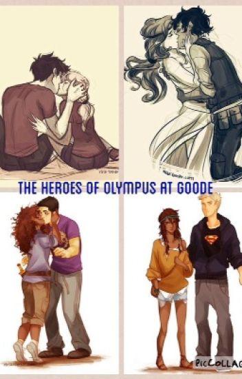 The Heroes of Olympus in Highschool