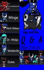 Ego  and Me Q & A with T or D by WolfNinja-99