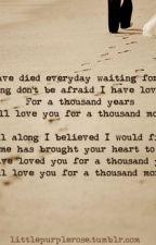 A thousand years  Niall Horan  ~ Terminada. by evajnc__
