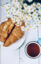 Croissants and Daisys by creativesoulart