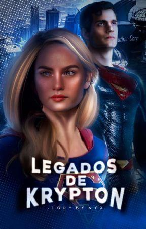 Legados de Krypton - DC COMICS by Sxrdonyx