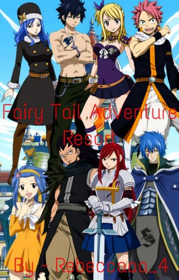 Fairy Tail Adventure Resort (Nalu, Gruvia, Jerza, Gajevy)