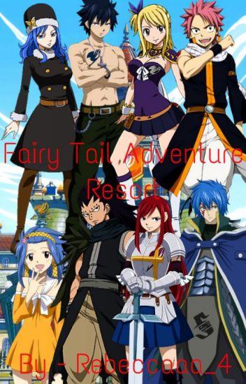 Fairy Tail Adventure Resort (Nalu, Gruvia, Jerza, Gajevy)